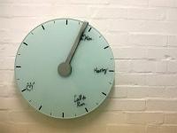 時間に追われる予定時計