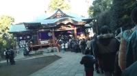 初詣 武蔵野八幡宮