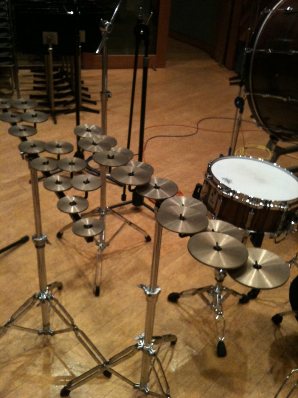 Brass & Percussion Recording
