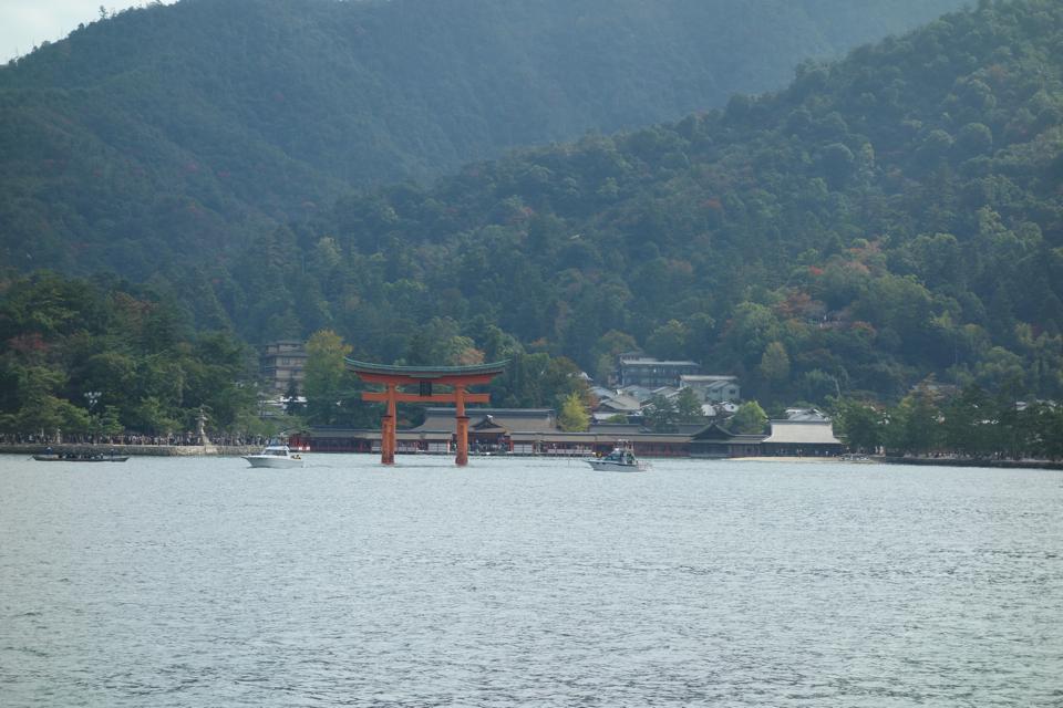世界遺産、厳島神社(宮島)