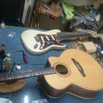 ギターメンテ
