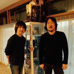 坂本さんと2ショット