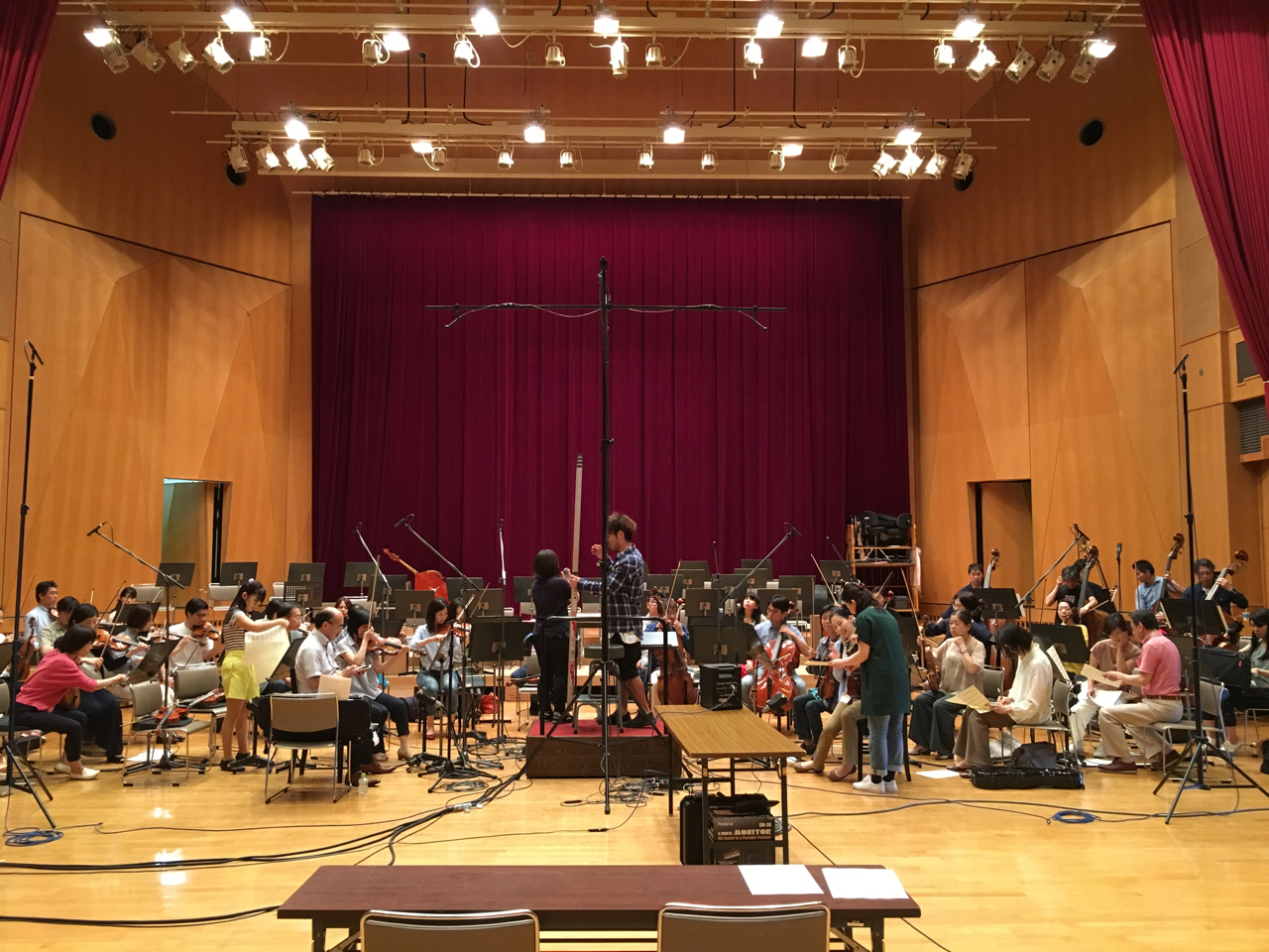 Orchestra Recording The First Day