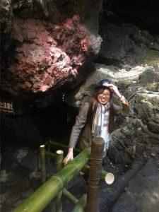 ミョンちゃん洞窟へ
