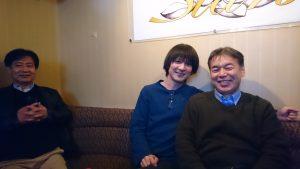 石光先生、浜田先生と