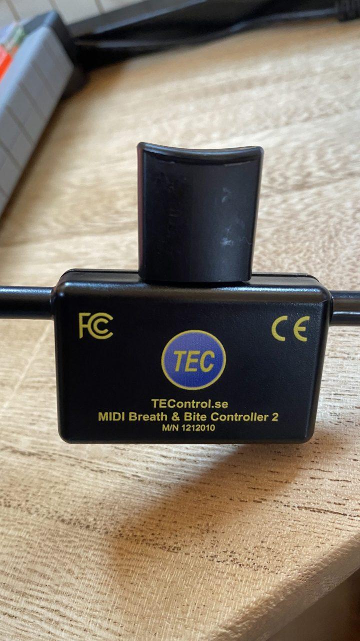 MIDI Breath Controller