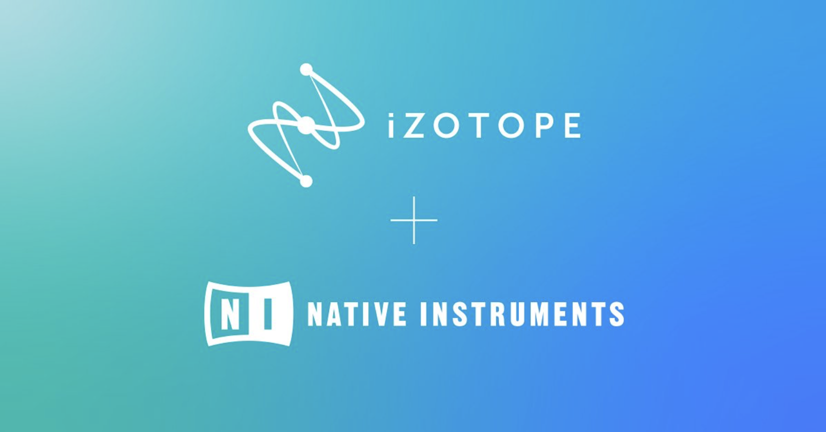 iZotope + NATIVE INSTRUMENTS