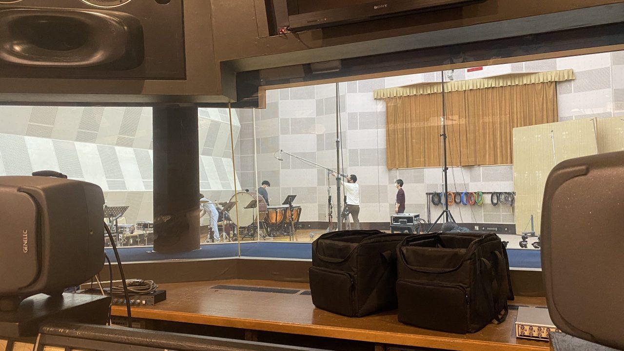 Percussion Recording